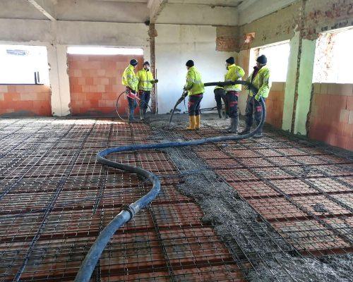 Rekonstrukce areálu